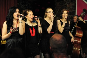 The Ladybirds am Jazz im Chutz