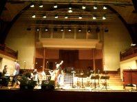 Soundcheck fürs Neujahrskonzert 2012 mit der Kanti-Bigband im Konzertsaal Solothurn
