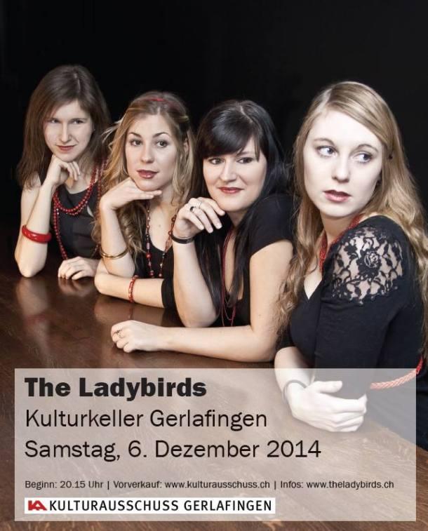 The Ladybirds im Kulturkeller Gerlafingen
